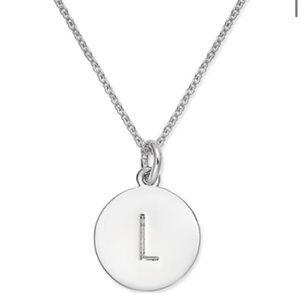 "Kate Spade ""L"" Necklace"